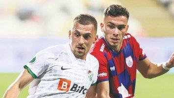 Bursa'da dev maç