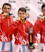 Milli karatecilerden dört madalya