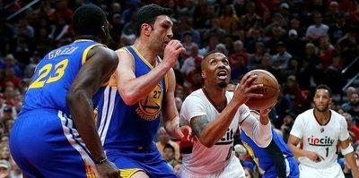 Warriors take 3-0 series lead over Blazers