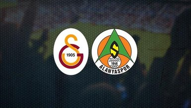 Galatasaray - Alanyaspor maçı ne zaman? Saat kaçta? Hangi kanalda canlı yayınlanacak? Muhtemel 11'ler