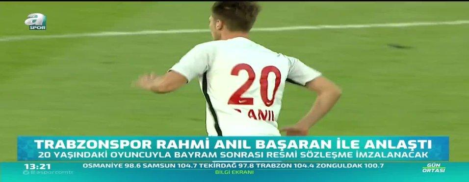 Trabzonspor'da ilk anlaşma tamam! 'Rahmi Anıl Başaran'