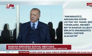 Başkan Erdoğan'dan Ankara'ya stat müjdesi
