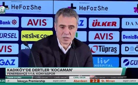 Ersun Yanal: Kazanabileceğimiz bir oyunda 1 puan almış olduk