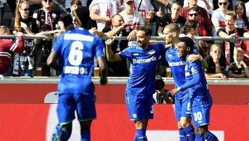 Leverkusen'den 3 gollü galibiyet!