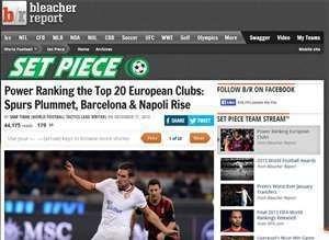 Avrupa'nın En İyi 20 Takımı