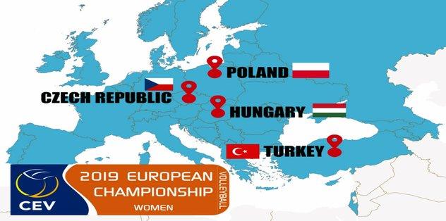2019 Avrupa Kadınlar Voleybol Şampiyonası Türkiye'de