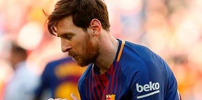 Meğer Messi bağımlıymış!