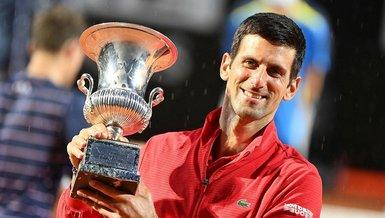 Roma Açık Tenis Turnuvası'nda şampiyon Novak Djokovic!