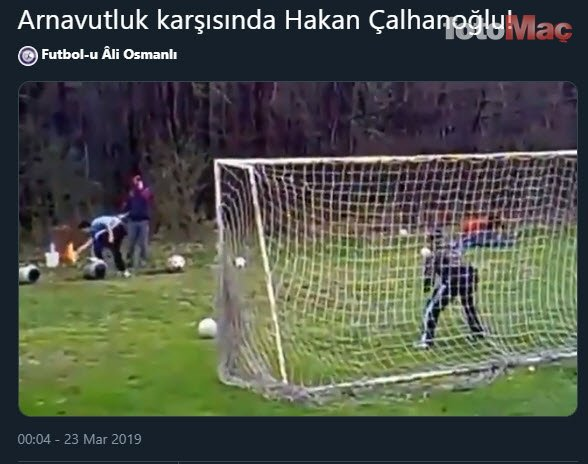 Hakan Çalhanoğlu'nun golü sonrası sosyal medya yıkıldı!