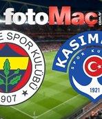 Fenerbahçe - Kasımpaşa | CANLI