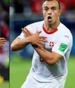 FIFA'dan Shaqiri ve Xhaka'ya ceza