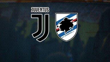 Juventus-Sampdoria maçı CANLI