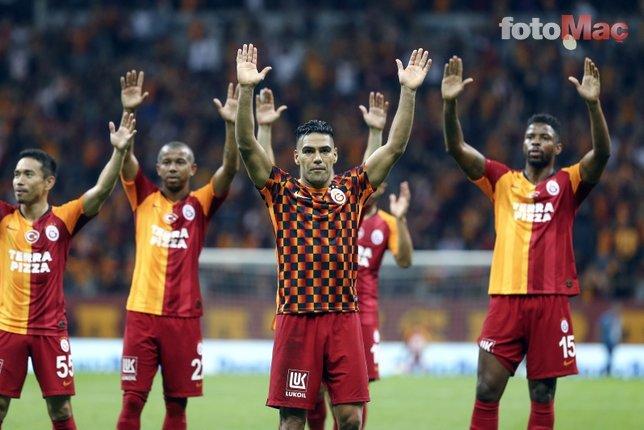 Galatasaray'da Radamel Falcao ilk maçtan Mbaye Diagne'ye fark attı