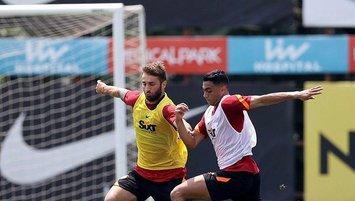 Galatasaray PSV maçı hazırlıklarını sürdürdü!