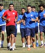 Antalyaspor'da, Akhisar Belediyespor hazırlığı