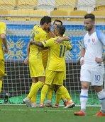 Ukrayna Slovakya'yı devirdi!