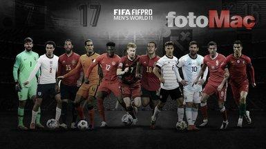 FIFA The Best yılın en iyi ilk 11'i açıklandı