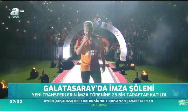 Galatasaray'da imza şöleni