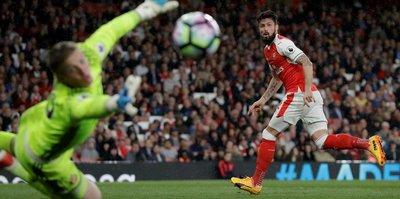 Arsenal galibiyet serisini 4 maça çıkardı