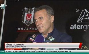 """Fikret Orman: """"VAR'ın çalıştığı bir maç olsun"""""""