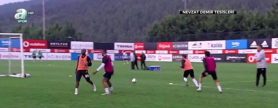 Beşiktaş'ta Göztepe maçının hazırlıkları sürüyor