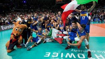 Erkekler voleybolda Avrupa'nın en büyüğü İtalya!