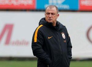 Galatasaray Fatih Terim yönetiminde antrenman yaptı