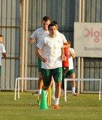 Bursaspor'da Stancu yeniden takıma döndü