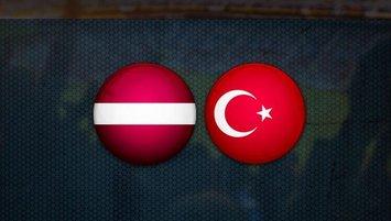 Letonya Türkiye maçı ne zaman, saat kaçta?