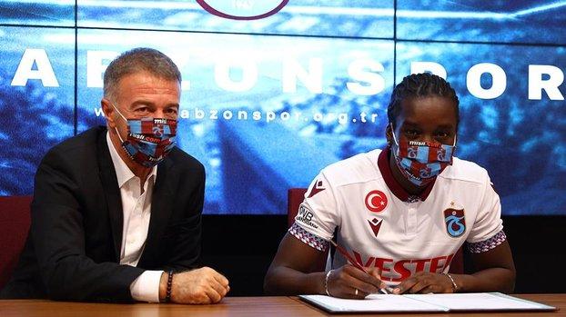 Trabzonspor Fousseni Diabate ile 3+1 yıllık sözleşme imzaladı #