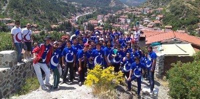 Türkiye'nin gençleri Bolu'da kaynaşıyor