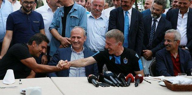 Trabzonspor'da bayramlaşma gerçekleşti
