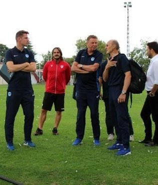 Genk'in antrenörleri Samsun'da