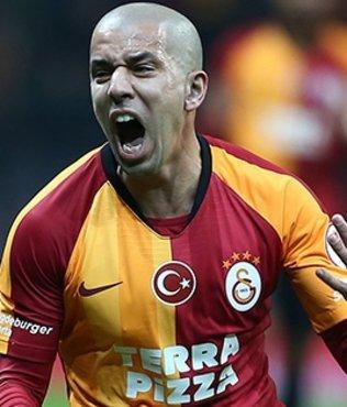 Galatasaray'da flaş gelişme! Feghouli için yolun sonu...