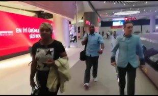Sturridge'in ailesi İstanbul'a geldi