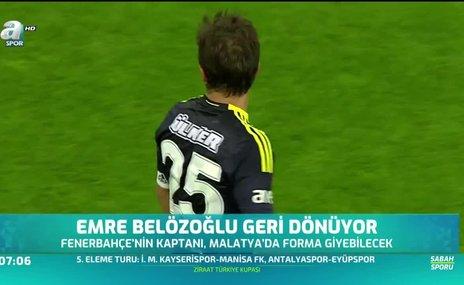 Emre Belözoğlu geri dönüyor