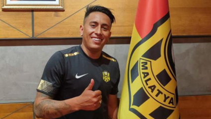 Yeni Malatyaspor'da Christian Cueva kadro dışı!