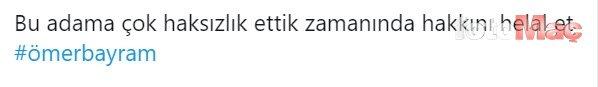 Ömer Bayram jeneriklik bir gol attı sosyal medya yıkıldı!