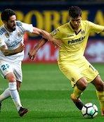 Real Madrid son maçında Villarreal ile berabere kaldı