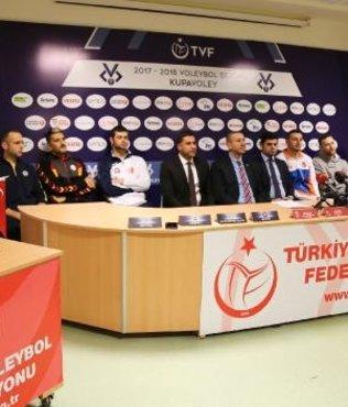 Kupa Voley Final Etabı'nın basın toplantısı yapıldı
