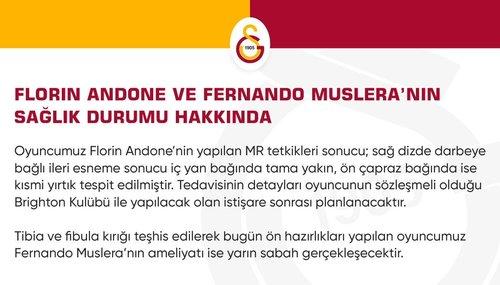 son dakika fernando musleranin ameliyat tarihi aciklandi 1592220037615 - Son dakika: Fernando Muslera'nın ameliyat tarihi açıklandı