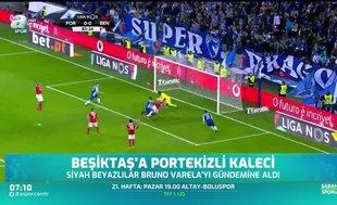 Beşiktaş'ta Portekizli kaleci