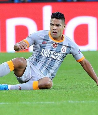 Radamel Falcao beklentilerin altında kaldı! İstatistiklere böyle yansıdı | Son dakika Galatasaray haberleri