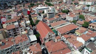 Manisa Akhisar'da corona virüsü sebebiyle 5 apartman karantinaya alındı