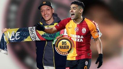 Mesut Özil'in Fenerbahçe'ye gelişi sonrası Falcao transferi gerçeği ortaya çıktı! Meğer...