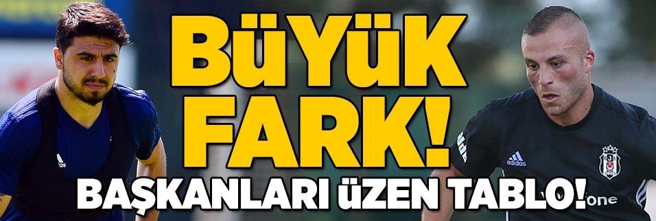 İşte piyasa değeri artan ve düşen Türk futbolcular...