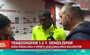 Hugo Rodallega: Trabzonspor'a saygımdan dolayı gole sevinmedim