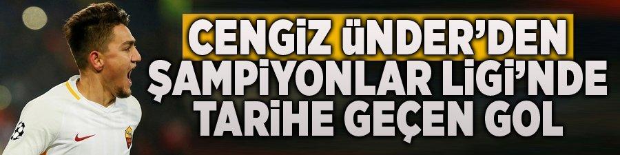 Cengiz Ünder'den Şampiyonlar Ligi'nde tarihe geçen gol!