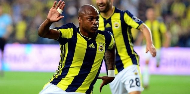 F.Bahçe eyes to end Ayew deal
