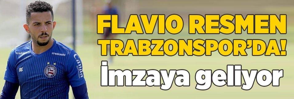 son firtina flavio 1598047769074 - Son dakika: Trabzonspor Flavio'yu resmen açıkladı!